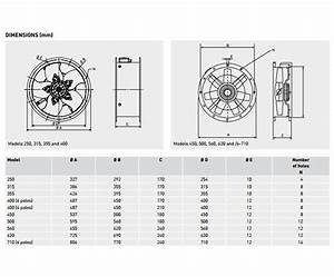 Soler  U0026 Palau Tcbb  4 H Cased Axial Flow Extract Fan