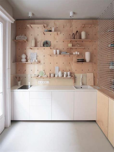 etagere cuisine bois le rangement mural comment organiser bien la cuisine archzine fr