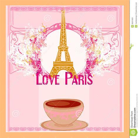 love paris  tower eiffel  coffee  pink