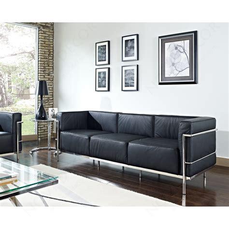 Lc Sofa by Le Corbusier Lc3 Style Sofa Design Plus Gallery