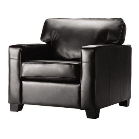 home decorators collection hartford 35 in h black leather