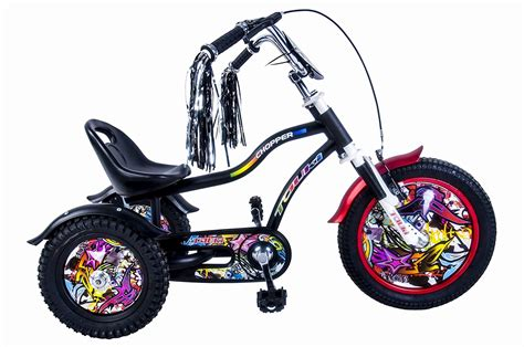 Tauki™12 Inch Kids Haley Style Tricycle