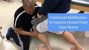 Functional Mobilization To Improve Closed Chain Knee