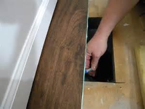 diy install vinyl plank flooring we call it junkin 39