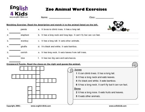 zoo worksheets 3rd grade all worksheets 187 zoo worksheets for grade