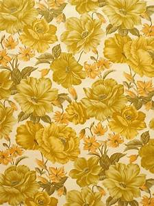 Yellow Floral Wallpapers Group (52+)
