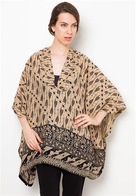 blouse kelelawar motif parang  danar hadi fashion