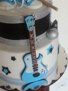 Rock Star Baby Laufstall : rock star baby shower cake ~ Frokenaadalensverden.com Haus und Dekorationen