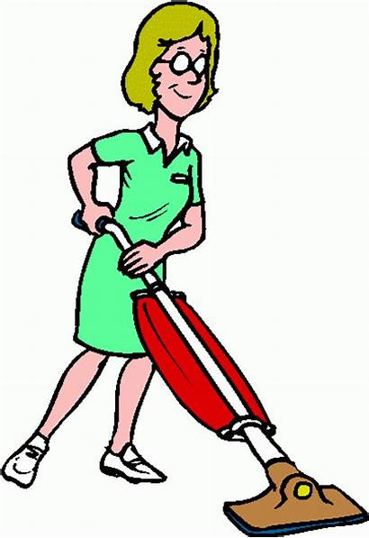 Cleaning Clip Clipart Cliparts Woman Lady Cleaners