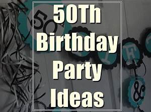 Golden 50th Birthday Party Ideas You Must have in Your