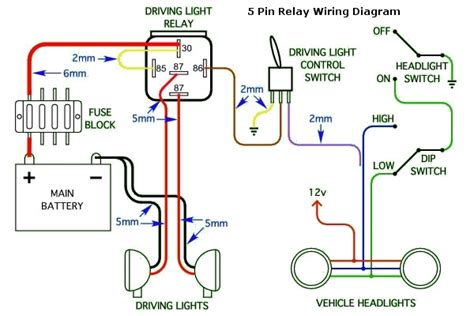 how to wire up driving lights diagram wiring diagram and