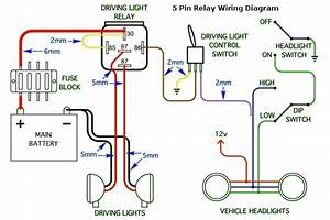 How To Wire Up Spotlights Diagram