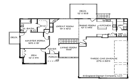one floor plans one house plans one ranch house plans one