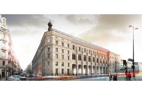bureau de poste rue du louvre dominique perrault architecture restructuration de la