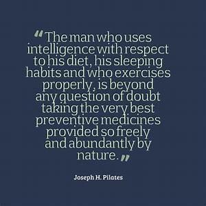 Joseph #Pilates... Fitness Movement Quotes