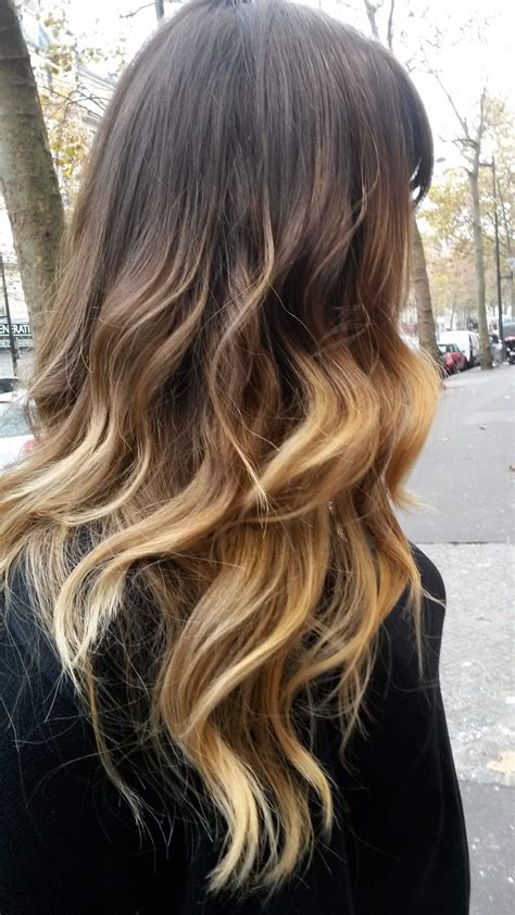 degrade brun blond recherche google coiffure maquillage