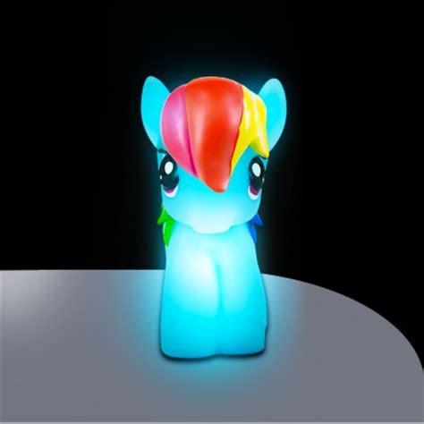little night lights my little pony rainbow dash soft lite