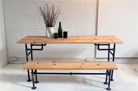 iron pipe desk plans 6 diy tables to try poppytalk