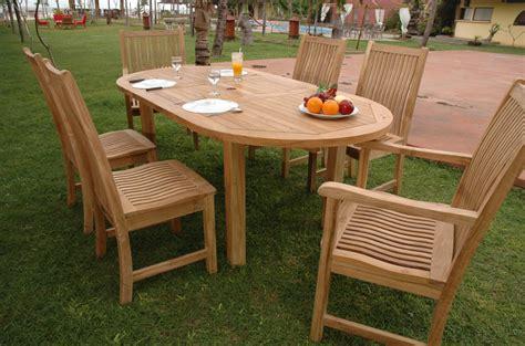 teak wood table and chairs teak patio furniture los angeles decor ideasdecor ideas