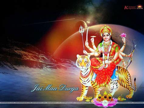 Digital Navratri Mata Wallpaper by Free Wallpapers Backgrounds Durga Wallpapers