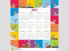 May 2018 Calendar Cute monthly calendar 2017