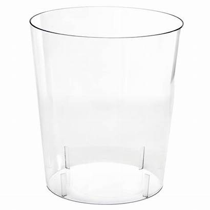 Container Candy Clear Cylindrical Plastic