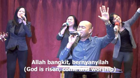 Allah Bangkit, Worship Led By Efraim Tamba
