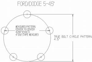 Ford Bolt Pattern