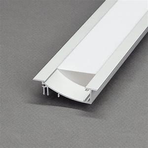 Led Profil 2m : kit profil s led aluminium blanc noir encastrable flat 2m pour ruban led ~ Eleganceandgraceweddings.com Haus und Dekorationen