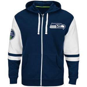 mens majestic seattle seahawks nfl  navy  pace
