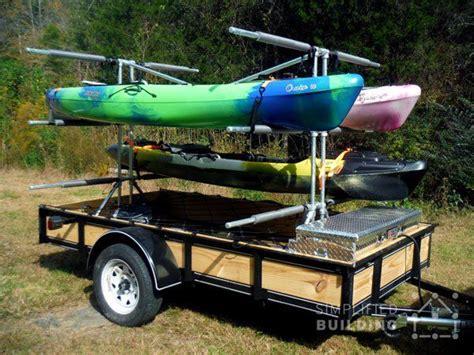 build   kayak trailer  welding  cutting