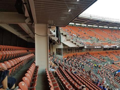 energy stadium mezzanine level endzone football