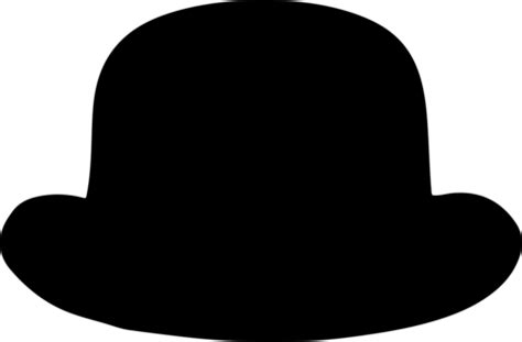 bowler classic hat template  printable papercraft