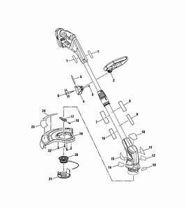 Ryobi P2200 Parts List