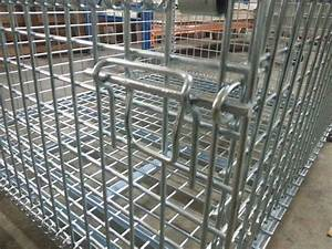 Foldable Wire Mesh Cage