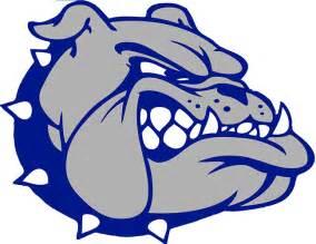 High School Bulldog Logo
