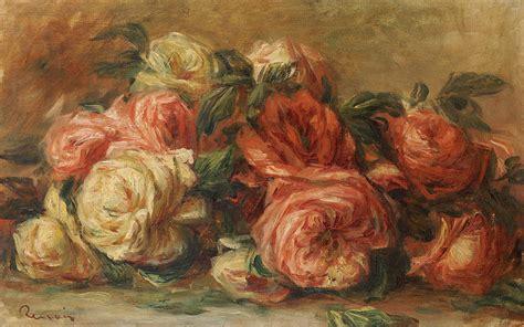 Pierre Auguste Renoir Still Life With Roses Tuttart