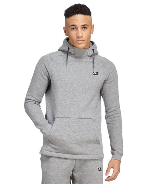 Lyst - Nike Modern Overhead Hoody in Gray for Men