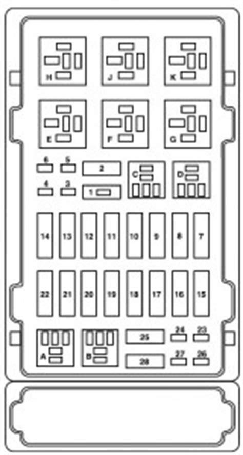 2004 E150 Fuse Box by Ford E Series E 150 2007 Fuse Box Diagram Auto Genius