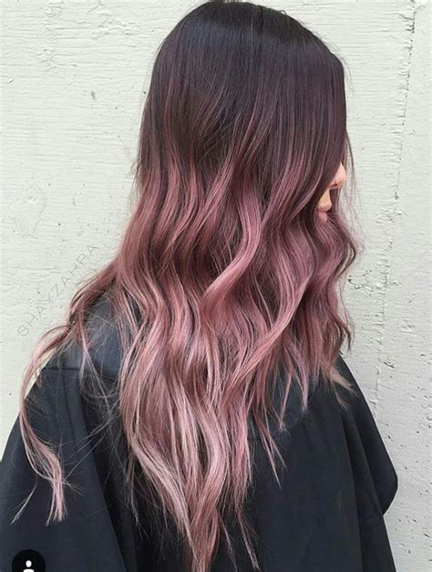 Pin By Katherine Olivas On Hair Hair Pink Ombre Hair