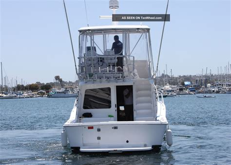 luhrs  ft convertible fishing boat