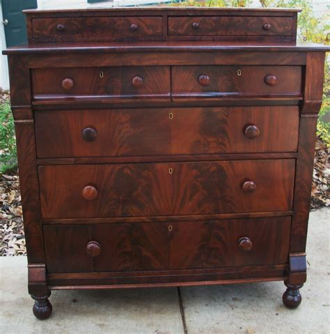 antique dressers for details about federal empire antique dresser chest crotch