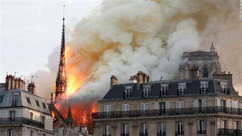 happened notre dame cathedral fire cnn