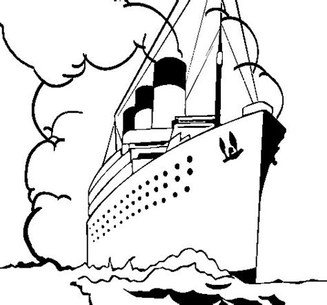 Barco De Vapor Dibujo Para Colorear by Dibujo De Barco De Vapor Para Colorear Dibujos Net