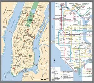 Plan De Manhattan : cartes touristiques plans cartes l gendes cartographie ~ Melissatoandfro.com Idées de Décoration