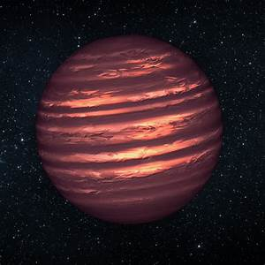 Hubble & Spitzer See Weather Patterns in a Brown Dwarf