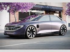 Byton KByte Concept Sedan Uncrate
