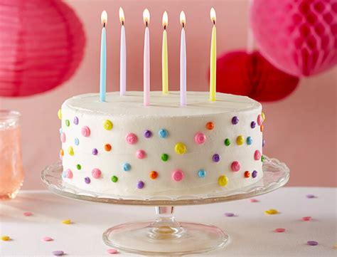 Images Of Birthday Cakes Birthday Cake Recipe Land O Lakes