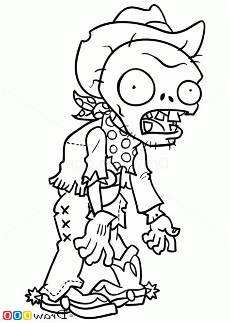 Coloring Zombies Plants by Plants Vs Zombies Coloring Pages Coloring Home