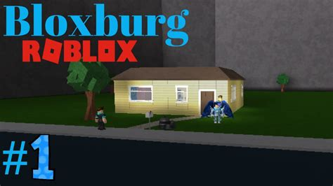 Bloxburg #1  Brand New House (roblox Welcome To Bloxburg